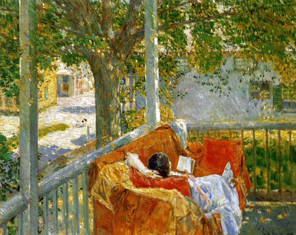 Couch on the Porch, 1914